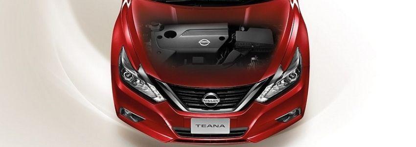 สมรรถนะเครื่องยนต์ Nissan Teana
