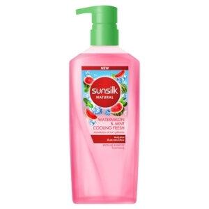 แชมพูไมเซล่า Sunsilk Shampoo Watermelon & Mint Cooling Fresh Micellar
