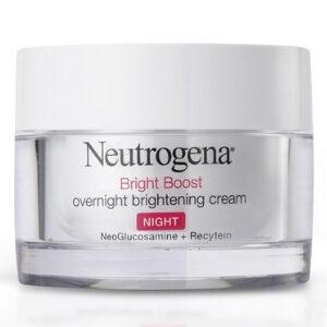 Neutrogena นูโทรจีน่า ไบร์ท บูสท์ โอเวอร์ ไนท์ครีม สำหรับผิวที่เป็นสิวและแพ้ง่าย