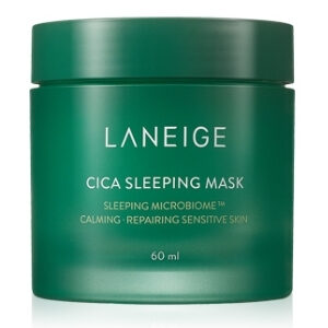 LANEIGE Cica Sleeping Mask ลาเนจ ซิก้า สลีปปิ้งมาส์ก สูตรเนื้อเจลบางเบา ช่วยฟื้นฟูผิวให้มีชีวิตชีวา