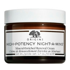 Origins [ออริจินส์] High-Potency Night-A-Mins Mineral-enriched Oil-free Renewal Cream มีส่วนผสมของ AHA