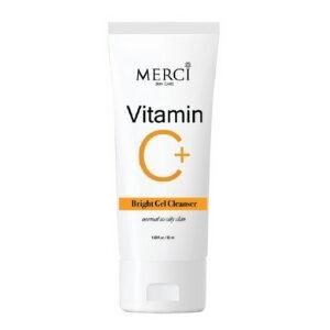 เจลล้างหน้าวิตามินซี Merci Vitamin C Bright Gel Cleanser เมอร์ซี่ วิตามิน ซี ไบร์ท เจล คลีนเซอร์