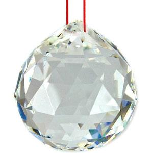 FENG SUI Crystal Ball Sphere Prism ฮวงจุ้ยลูกแก้วคริสตัลบอลแขวน