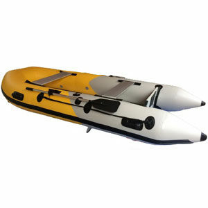 เรือยาง 3.30 เมตร แบบมีพื้นอลูมิเนียม