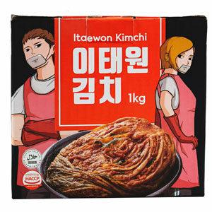 Itaewon Kimchi กิมจิหัวผักกาดขาว 1 กิโลกรัม