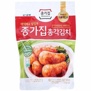 Jongga กิมจิหัวไชเท้า Chonggak Kimchi ขนาด 500 กรัม