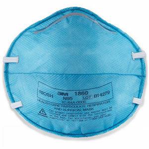 3M 1860 หน้ากาก N95 ป้องกันฝุ่น กันเชื้อโรค ป้องกันฝุ่น ป้องกันเชื้อโรค
