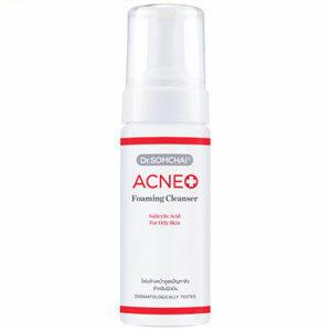 โฟมล้างหน้าซาลิไซลิก Dr.somchai Acne Foaming Cleanser Salicylic