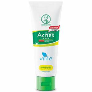 โฟมล้างสำหรับผิวเป็นสิว มีความมันสูง MENTHOLATUM Acnes Clear & Whitening Wash