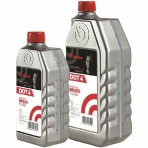 Brembo Premium Brake Fluid DOT 4 น้ำมันเบรคสังเคราะห์เกรดพรีเมียม
