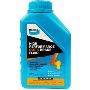 Bendix Brake Fluid DOT 4 น้ำมันเบรคสังเคราะห์แท้ เบ็นดิกซ์
