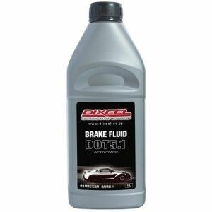 Dixcel High Quality Brake Fluid DOT 5.1 น้ำมันเบรคประสิทธิภาพสูง