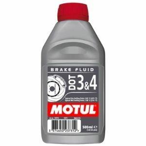 MOTUL DOT 3 & 4 น้ำมันเบรคสังเคราะห์ 100% สำหรับรถยนต์และมอเตอร์ไซค์