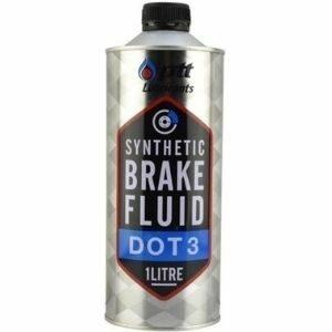 PTT Synthetic Brake Fluid DOT-3 น้ำมันเบรคสังเคราะห์