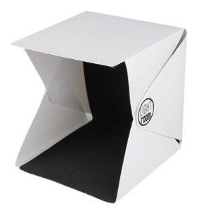 กล่องไฟถ่ายภาพขนาดเล็ก พับได้ พร้อมไฟ LED New Light Room V2 Mini Portable ขนาด 22.6x23x24 CM
