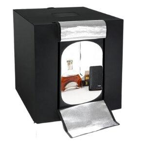 กล่องไฟถ่ายภาพ ขนาด 80 CM ไฟ LED