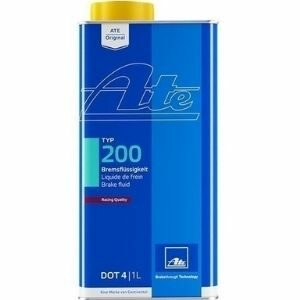 ATE TYP 200 For Racing DOT 4 น้ำมันเบรคเอเต้ สำหรับรถสมรรถนะสูง