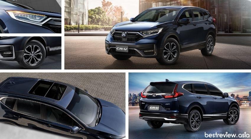 ดีไซน์ภายนอกของ All New Honda CR-V 2021