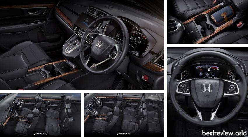 ดีไซน์ภายในของ All New Honda CR-V 2021