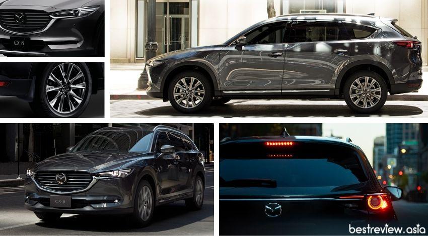 ดีไซน์ภายนอกของ All-New Mazda CX-8