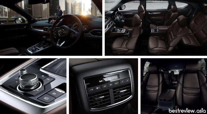 ดีไซน์ภายในของ All-New Mazda CX-8