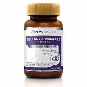 Clover Plus Bilberry and Marigold Complex โคลเวอร์พลัส วิตามินบำรุงสายตา