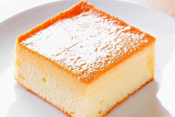 คาราเมลคัสตาร์ดเค้ก