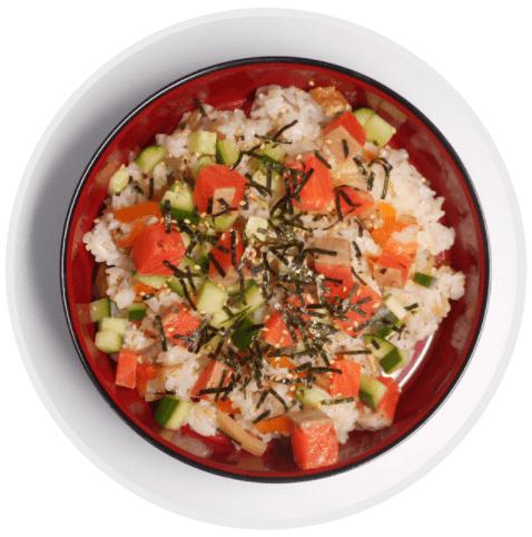 ประเภทของซูชิ Chirashi Sushi