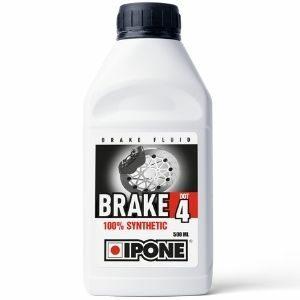 IPONE Brake Fluid DOT 4 น้ำมันเบรคและคลัตช์