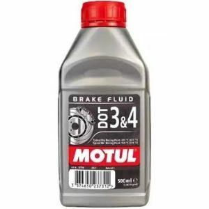 MOTUL Brake Fluid DOT 3&4 น้ำมันเบรคคุณภาพสูง
