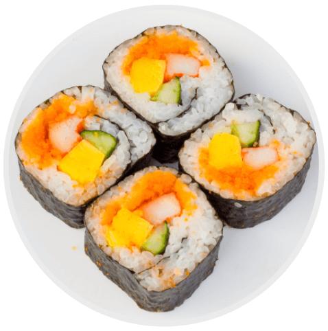ประเภทของซูชิ Maki sushi