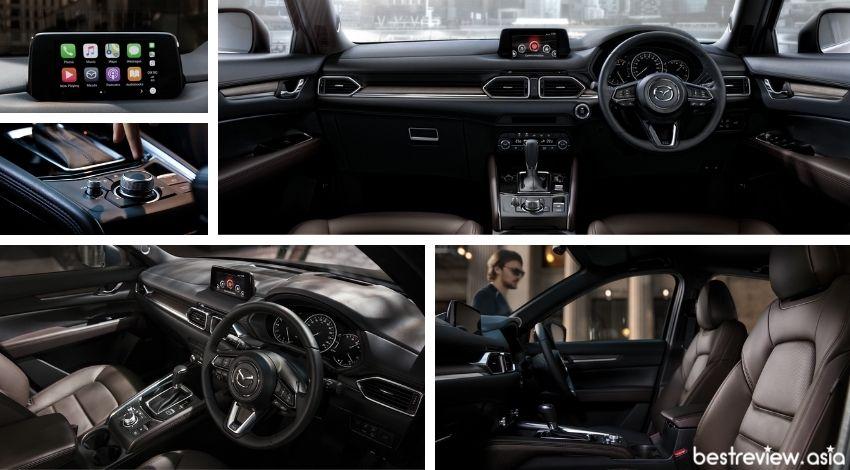 ดีไซน์ภายในของ Mazda CX-5
