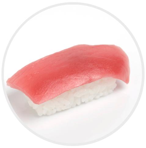 ประเภทของซูชิ Nigiri sushi