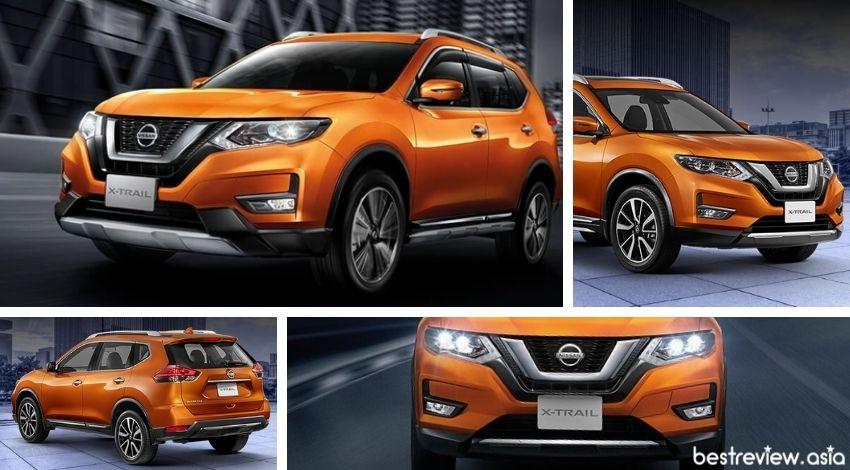 ดีไซน์ภายนอกของ New Nissan X-Trail