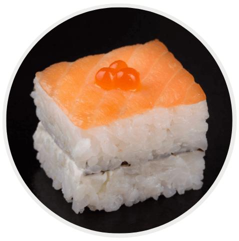 ประเภทของซูชิ Oshi sushi