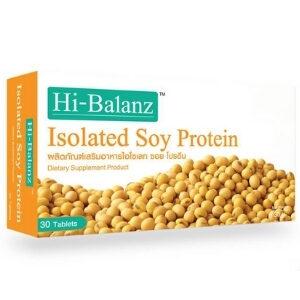 อาหารเสริม Hi-Balanz Isolated Soy Protein ไอโซเลท ซอย โปรตีน