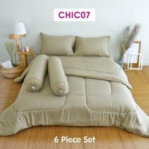 TULIP ชุดเครื่องนอน ผ้าปูที่นอน ผ้าห่มนวม รุ่น TULIP CHIC