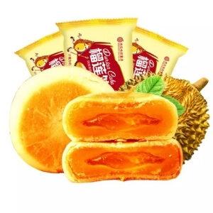 ขนมจากจีน ขนมเปี๊ยะไส้ทุเรียน