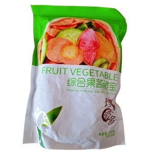 ผักและผลไม้อบกรอบ 12 ชนิด นำเข้าจากจีน มีมาตรฐานฮาลาลรับรอง