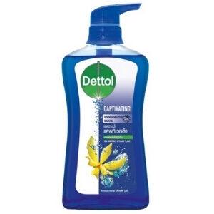 เดทตอล เจลอาบน้ำ แอนตี้แบคทีเรีย สูตรแคพทิเวทติ้ง