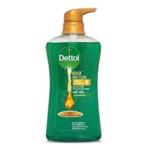 เดทตอล เจลอาบน้ำ แอนตี้แบคทีเรีย สูตรโกลด์ เดลี่ คลีน