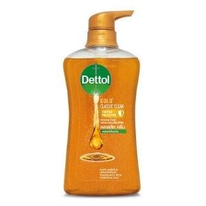 เดทตอล เจลอาบน้ำ แอนตี้แบคทีเรีย สูตรโกลด์ คลาสสิค คลีน