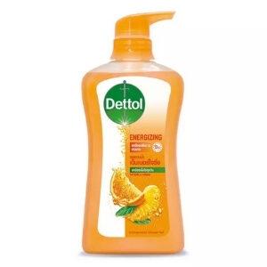เดทตอล เจลอาบน้ำ แอนตี้แบคทีเรีย สูตรเอ็นเนอร์ไจซิ่ง