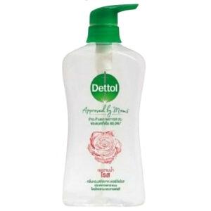 เดทตอล เจลอาบน้ำ แอนตี้แบคทีเรีย Approved by Moms สูตรโรส