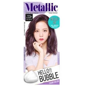 Mise En Scène Hello Bubble : สี Metallic Ash สีน้ำตาลหม่นประกายม่วงลาเวนเดอร์