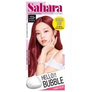 Mise En Scène Hello Bubble : สี Sahara Rose Pink สีแดงอมชมพู สุดแซ่บ