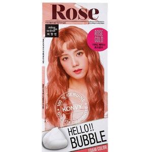 Mise En Scène Hello Bubble : สี Rose Gold สีคอรัลพีช ให้ลุคสดใสน่ารัก