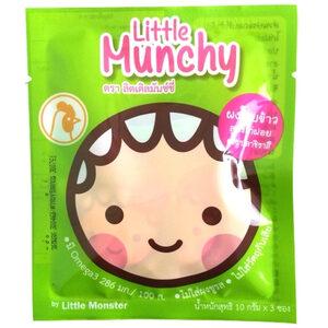 Happy Munchy ผงโรยข้าวสำหรับเด็ก สูตรไก่ฝอยผสมปลาชิราสึ
