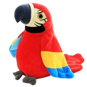 ตุ๊กตาบันทึกเสียง นกแก้วพูดได้