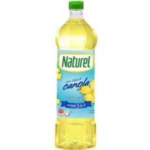 Naturel น้ำมันคาโนล่า 100% ตรา เนเชอเรล
